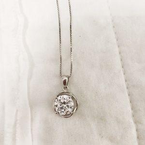 Helzberg Sterling silver pendant necklace